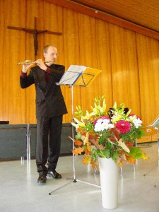 Bubmann bedankt sich musikalisch