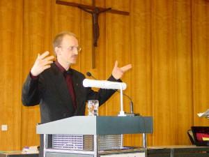 Prof. Peter Bubmann beim Festvortrag